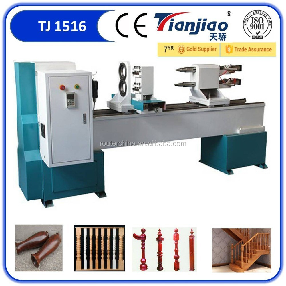 TJ-1530 Automatic wood copy lathe machine