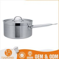new arrived Low Cost induction base handle cookware stainless steel