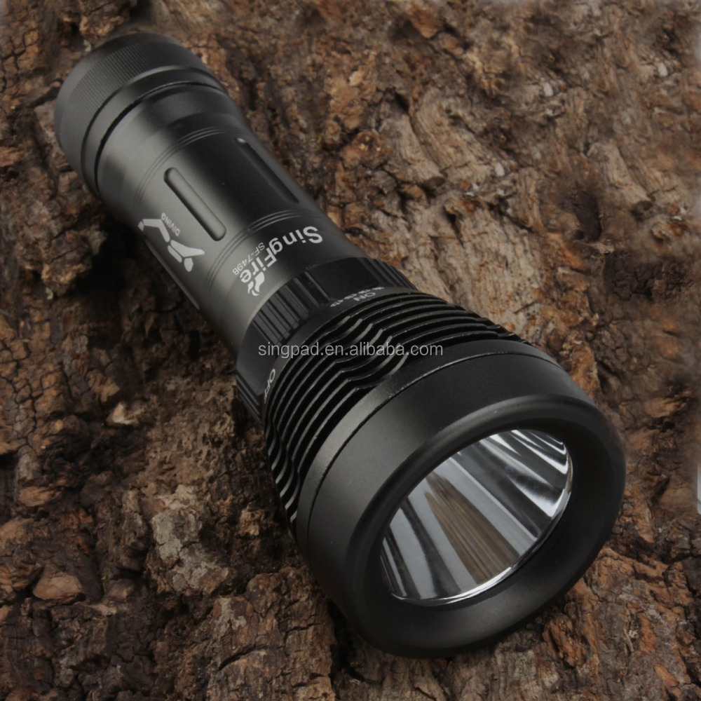 <strong>Diving</strong> 900Lm CREE XM-L <strong>U2</strong> LED Flashlight Torch Waterproof 80m