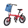 Lightweight easy folding children bicycle/competitive price high quality baby folding bicycle/single speed folding kids bike