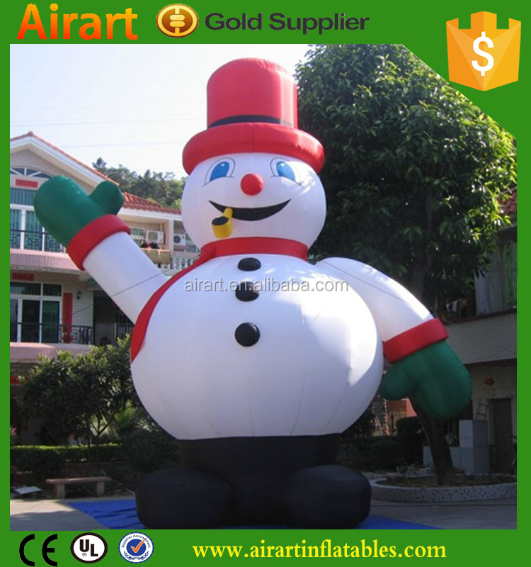 large Inflatable Snow man advertising for hot sales