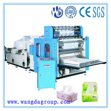 Manufacturing High Speed Automatic Facial Tissue Paper Folding Machine