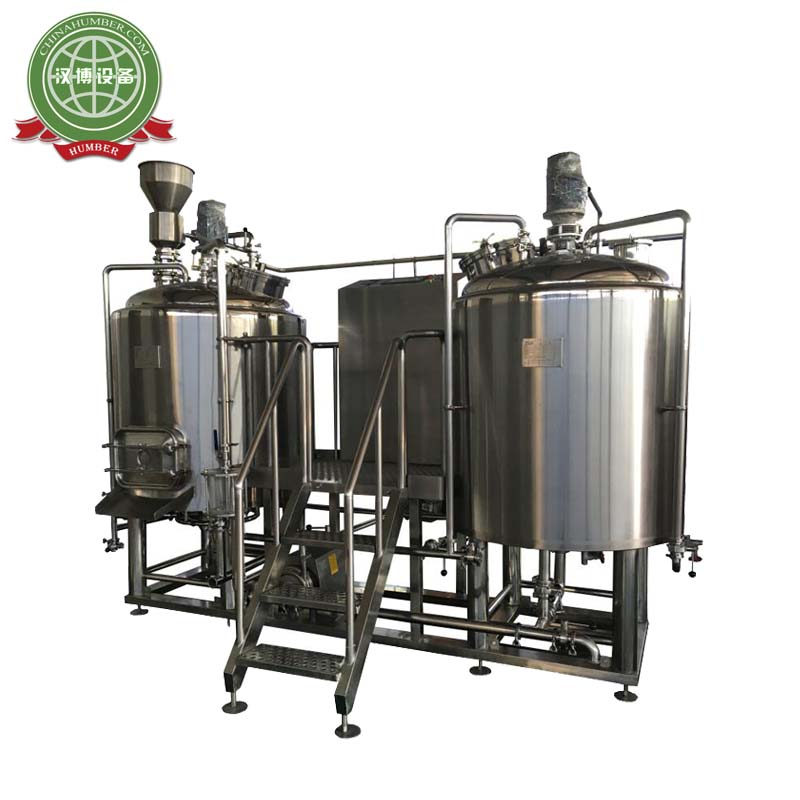 Electric/Steam/ Direct Flame Heating Mini Beer Brewing System Automated Brewing System