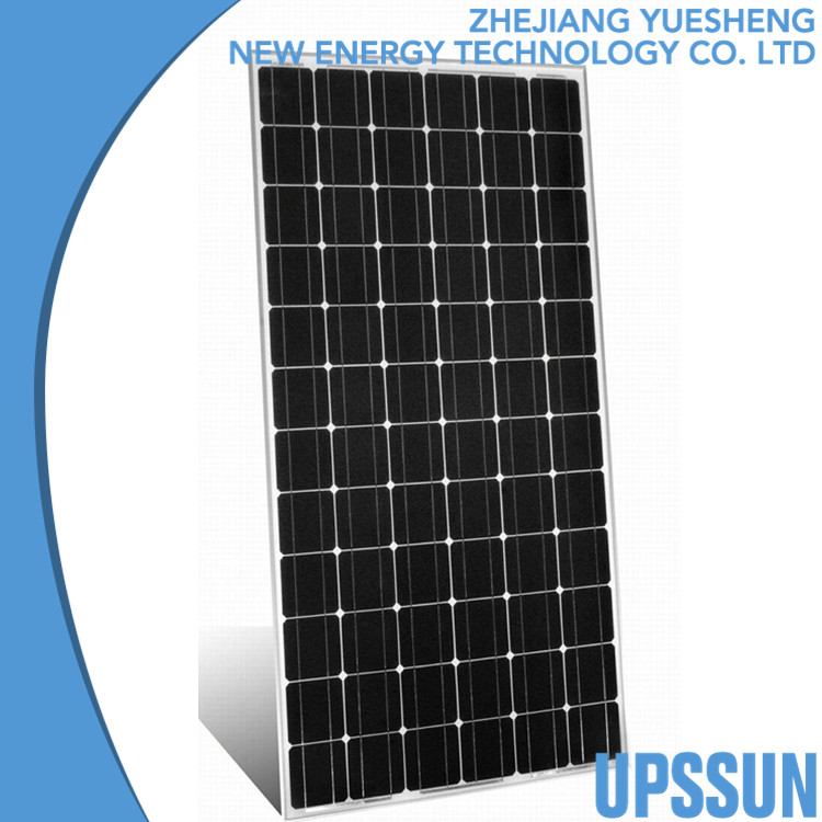 solar electric power plant 175w residential pv solar panel with TUV CE ISO certificates