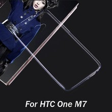 Cheapest Price for HTC One M7 TPU Clear Case , for HTC One M7 Mobile Phone Case Back Cover