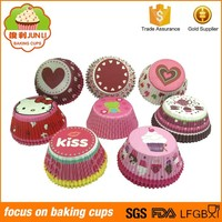 Made Of Food Grade Material Circular Cake Cup Paper Cupcake