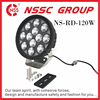 18000 high lumen super brightness white 9.7inches round driving lights bright white led night auto lightings