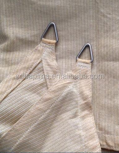 China factory shade sail net / garden shading net /balcony shade net