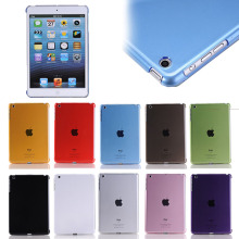 Crystal clear PC hard case for apple iPad Mini 1 2 3
