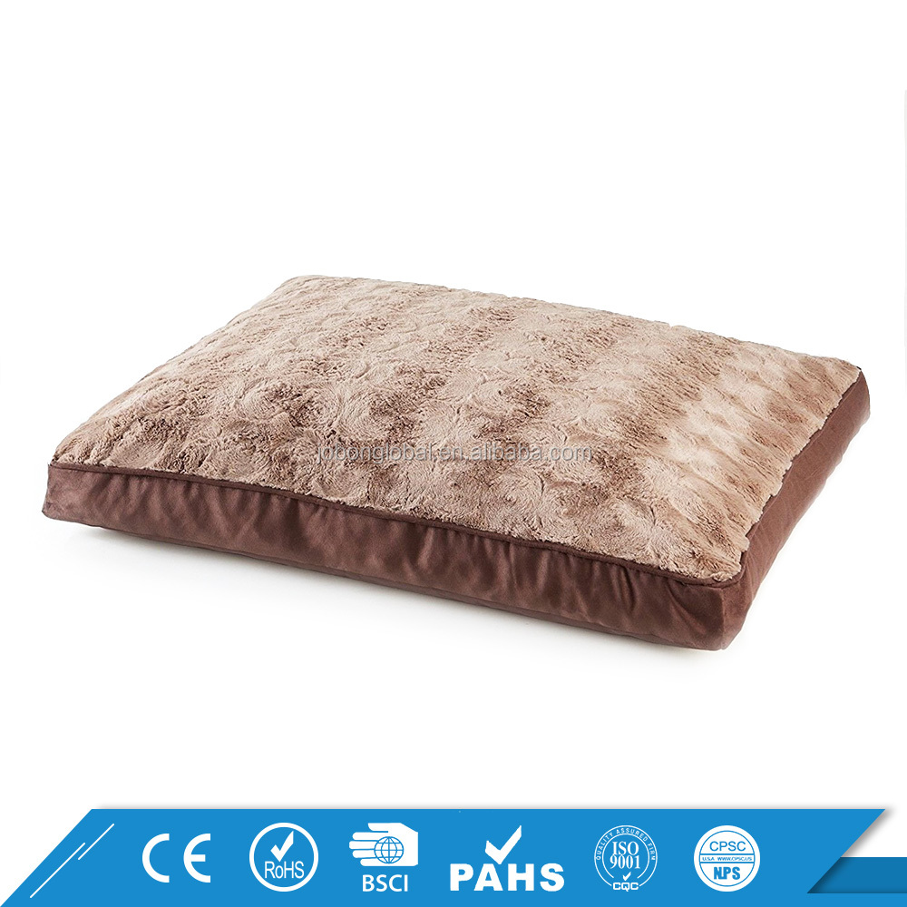 New Products Dog Cushion Soft Fleece Pet Beds Inflatable Elegant Luxury Dog Bed