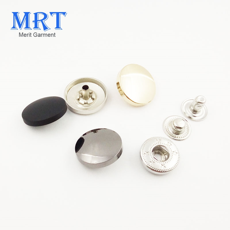 Factory price Wholesale garment brass cap custom metal snap button,snap button