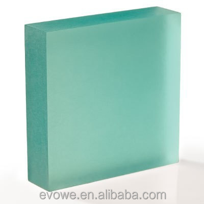 translucent resin panel for floor to ceilling room dividers