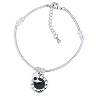 2015 Best Selling Ali Express Trendy Simple Design Moon Shaped State Jewelry Bracelet