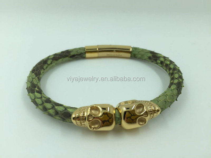 New design bracelet for north America skull bacelet and handmade bracelet men