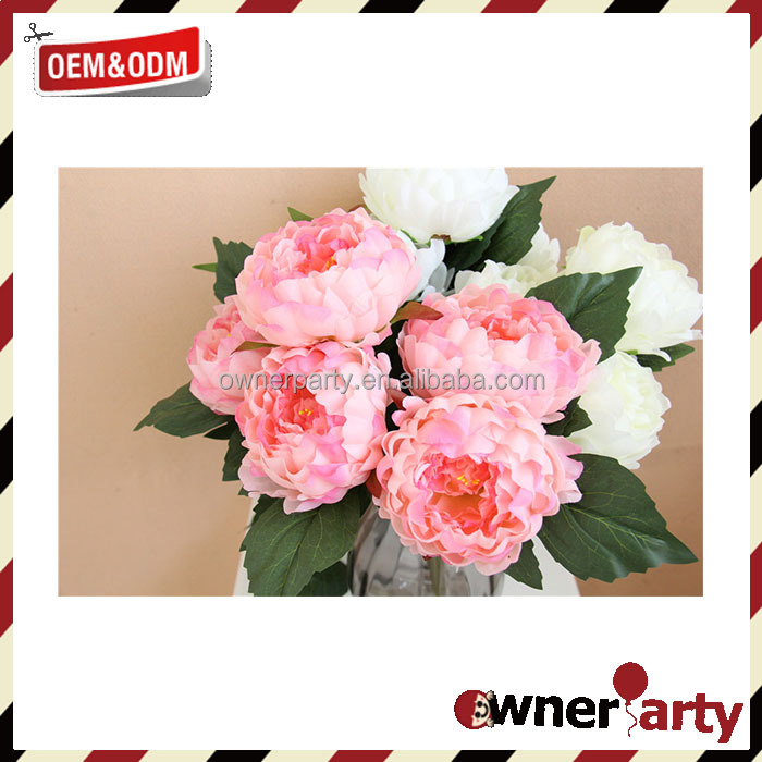Factory Direct Home Decoration Plastic Flowers for Sale