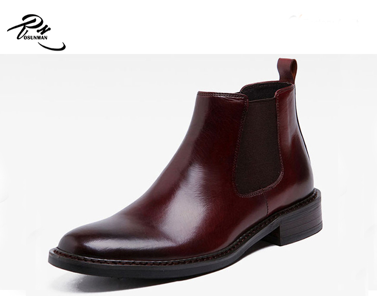 High quality men Chelsea style men leather <strong>boot</strong>, hot sales men leather <strong>boot</strong>