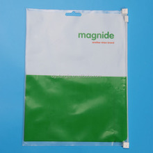 China manufacture High Quality pe bag with zipper