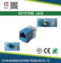 CAT6A CAT6 CAT5e Female Module/Keystone jack Rj45 socket SK610315