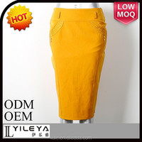 bright yellow church women skirts and blouse 2014