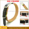 wholesale custom leather dog collars metal buckles for dog collars