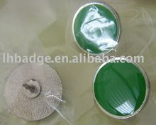 button badge with enamel and epoxy