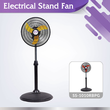 High efficiency low noise 3 blades SS-1010RBPG oscillating pedestal stand fan