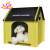 New arrival indoor mini wooden dog house with customize W06F002A