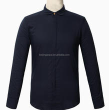 New style mens clothing latest cotton formal designs slim fit twill pant dress fashion shirt for man
