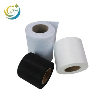 220gsm Polyester Needle punched non woven fabric roll used for Cup type mask Molding