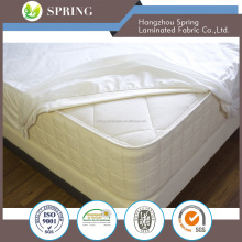 Wholesale 100% Cotton Cover Polyfiber Filled Quilted Mattress Pad Topper Protector Manufacturer from China
