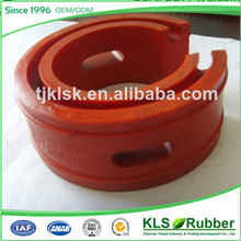 red rubber lined check valve