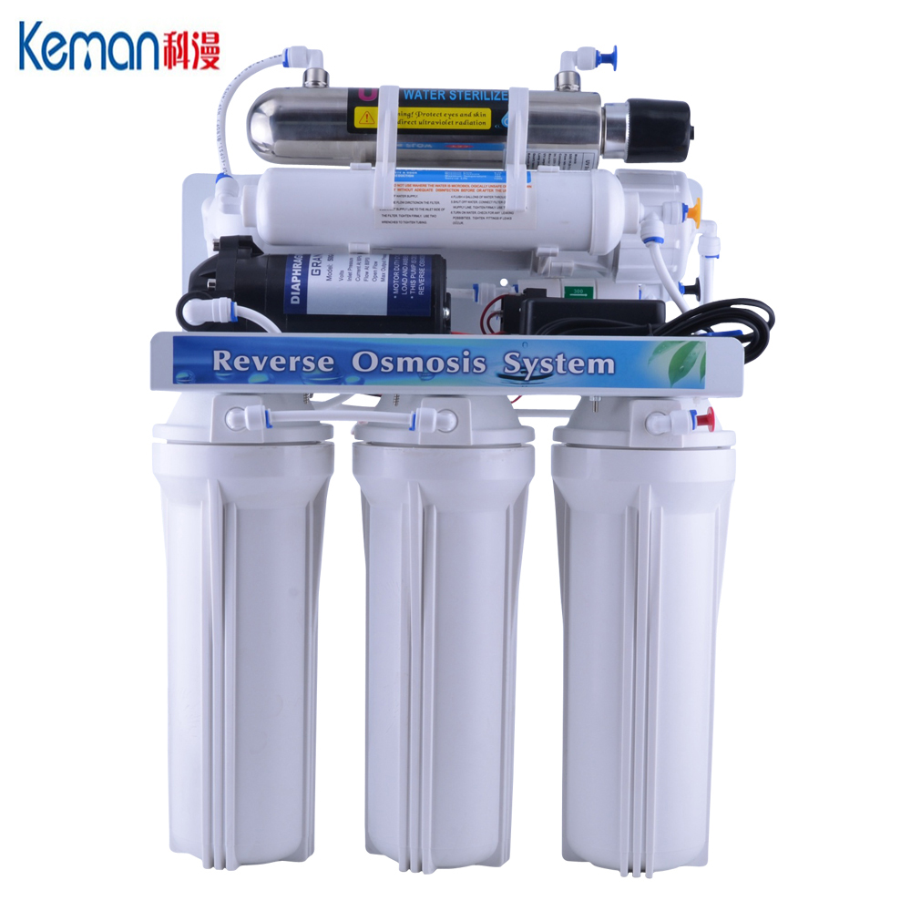 6 stage reverse osmosis drinking water <strong>system</strong> with UV
