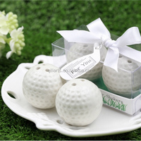 Wedding Favors Golf Ball Shape Ceramic