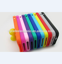 Plain Silicone Gel Rubber Skin Case Cover for Apple iPhone 5 5G