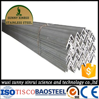 alibaba china market acid pickling 304 stainless steel angle bar