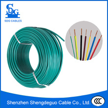 pvc insulated copper or cca conductor 12 gauge stranded wire