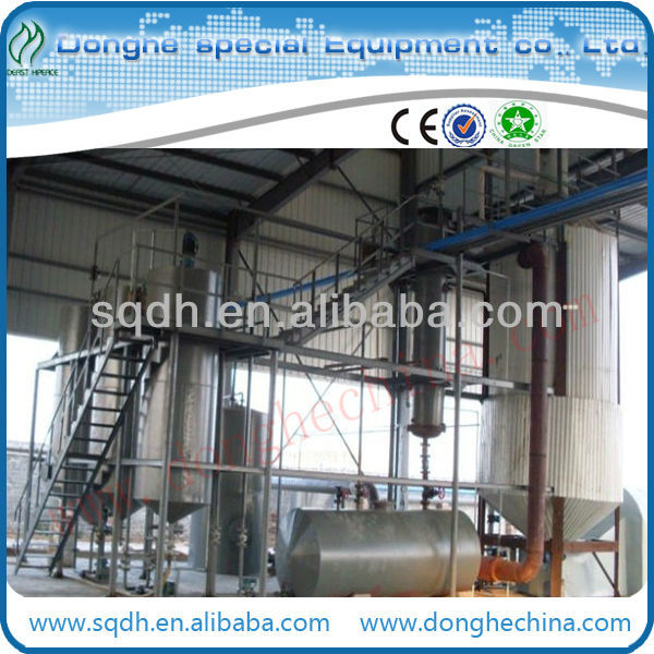 waste tyre oil recycling to higher quality oil waste lubricant oil recycling
