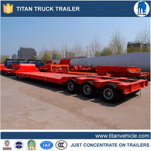Multi-axle Low Bed Trailer 200 Ton Capacity With Hydraulic Cylinder For Wind Tower Transportion