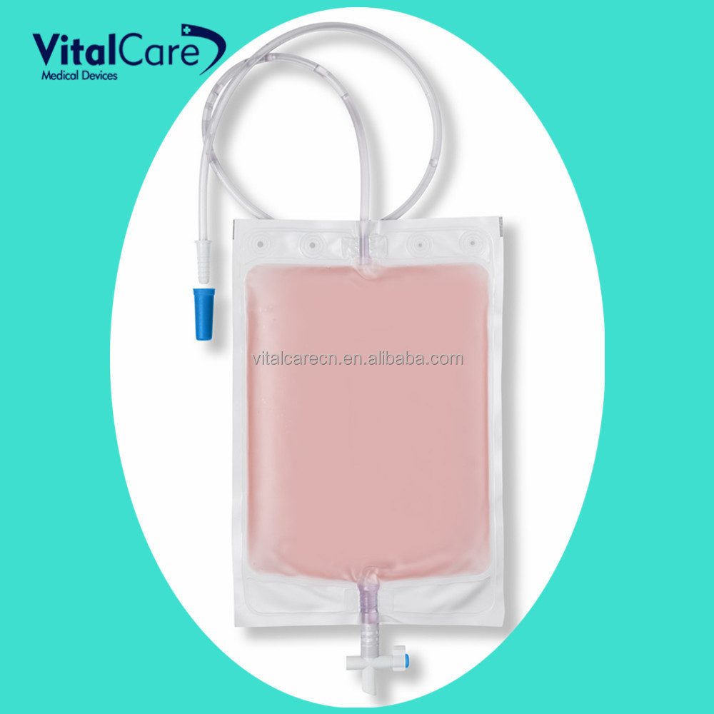 Different types of crossing valve urine bag/urinary drainage bag
