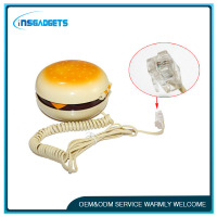 Lovely Hamburger Wire Corded Cute Telephone