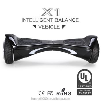 HX X1mini UL2272 6.5inch bluetooth speaker led light hoverboard self balance scooter