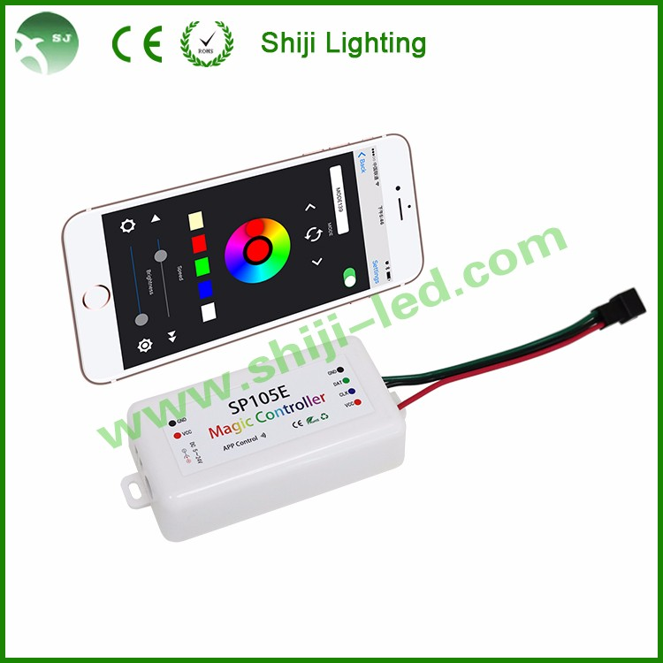 DMX compatible ws2801 LPD6803 IC 45mm RGB led pixel display light