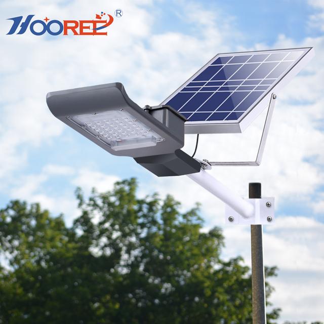 2018 patent 20W 20 LED SMD3030 LED solar street light best seller with wall mount bracket