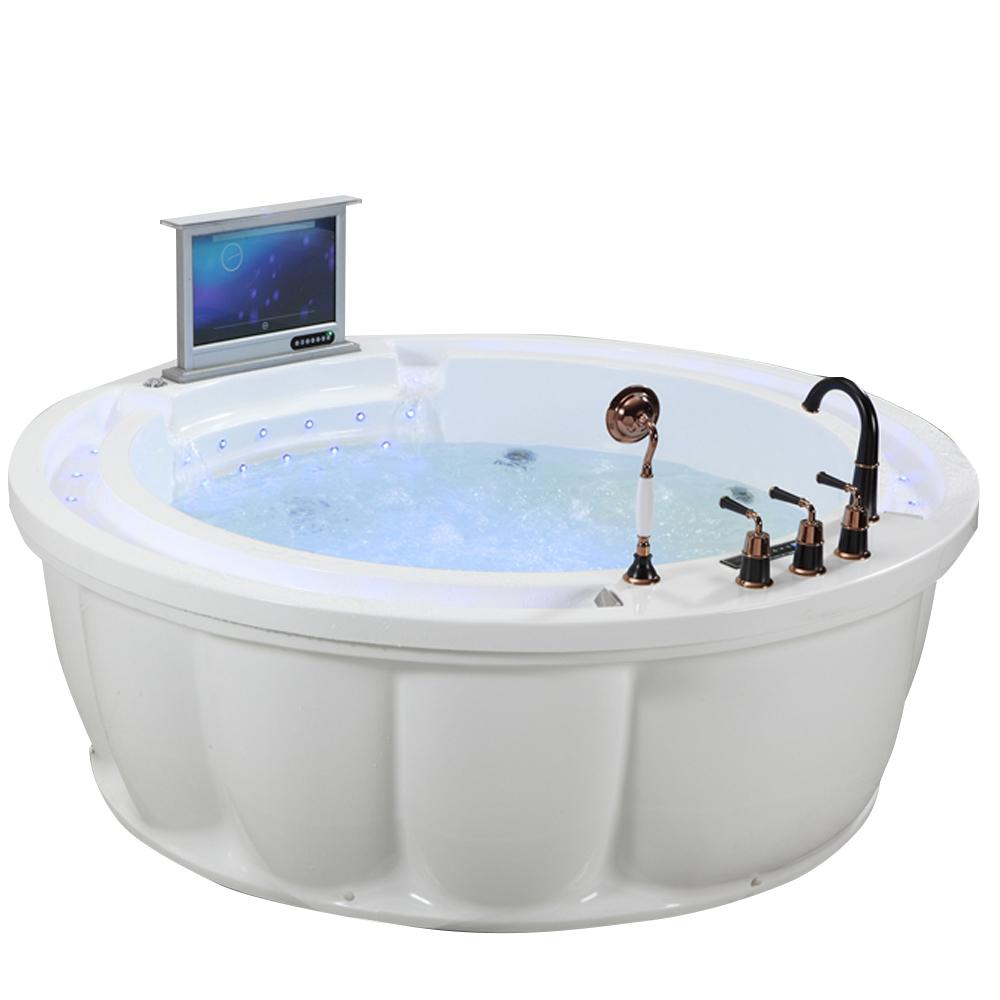 Modern 2 Person Cheap Round Bathtub Dimensions,Round Acrylic Bathtub ...