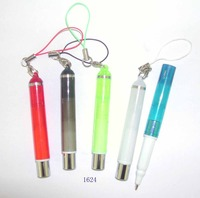 New style mini gel or ball pen with rope or chain or string and good quality