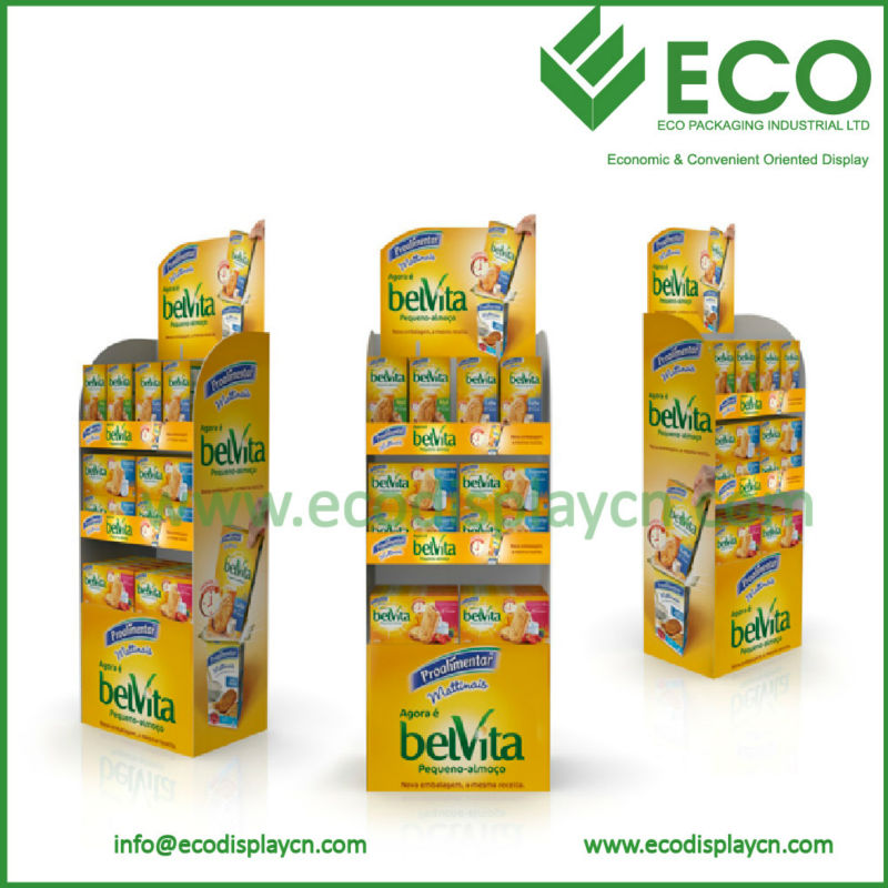 Cardboard Food Display Racks,Cardboard Eyewear Display,Cardboard Display Packaging Box