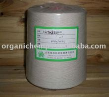 China Wholesale Supply 55% hemp /45% Cotton Blended Yarn For Weaving
