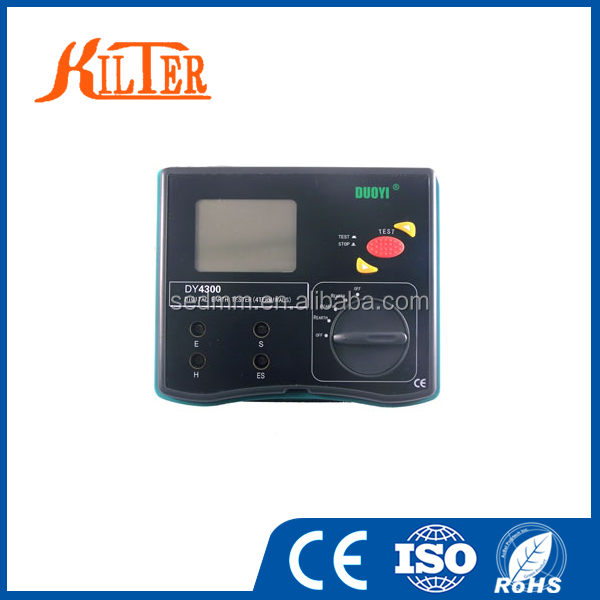 CE High Accuracy DY4300 4-Terminal Earth Resistance Testers