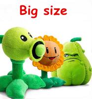 30cm Kawaii Plants vs Zombies Soft Stuffed Plush Toys