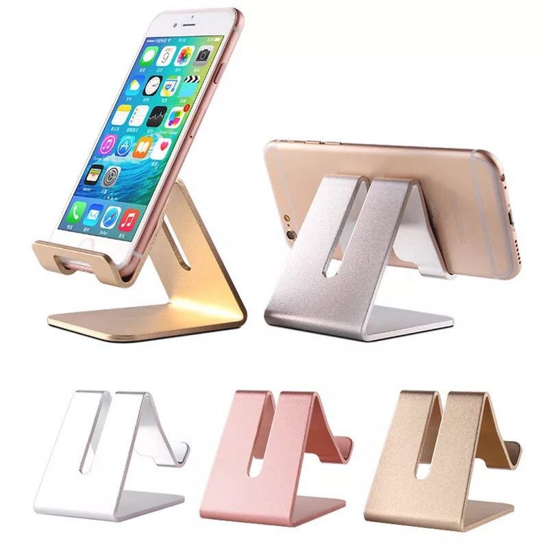 Desktop Cell Phone Stand Tablet Stand Aluminum Stand Holder for Mobile Phone